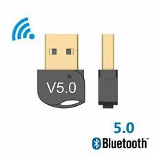 USB 5.0 Bluetooth Adapter Wireless Dongle High Speed for PC Windows Computer