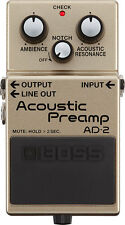 BOSS AD2 - Acoustic Preamp