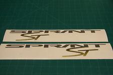 Sprint ST TRIUMPH Carénage decals stickers Graphics restauration de remplacement