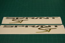 Sprint ST triumph fairing decals stickers graphics restoration replacement