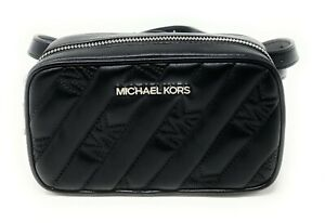 New! Michael Kors Rose Belt Bag Leather Quilted Fanny Waist Pack bag