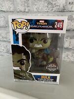 Funko pop! Hulk exclusive #249 from Thor Ragnarok