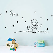 THE LITTLE PRINCE Words Removable Decal Wall Sticker Paper Decor Kids Nursery