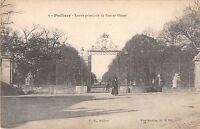BF6448 poitiers entree principale du parc de blossac france      France