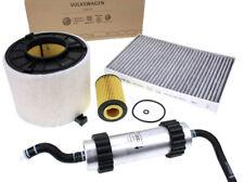 Original Audi 2.0L TDI A4 8W A5 F5 Inspektionspaket Filter Öl Luft Diesel Pollen