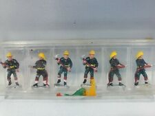 HO Scale Vintage Fire Fighters Pack Of 6 Train Layout Diorama