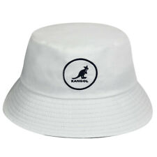 Kangol Cotton Bucket Hat - White