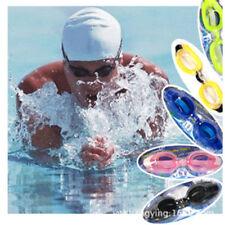 AdjustableAdult Summer Diving Swimming Glasses Goggles Set w/ Earplugs Nose Clip