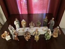 Homco Home Interiors The Last Supper Greatest Stories Ever Told Figurine Set