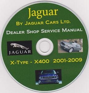 Jaguar X-Type X400 2001 -2009 FACTORY SERVICE SHOP MAINTENANCE MANUAL+Extras