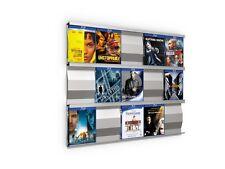 SIGMARAIL® Blu-ray-Regal-System SR5 - Ihre Blu-rays als Wandbild