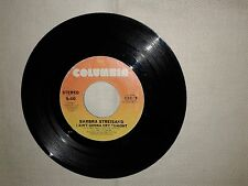 Barbra Streisand / Kiss Me In The Rain-Disco Vinile 45 Giri STAMPA USA 1979