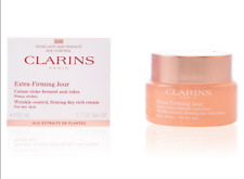 50ml Clarins Extra Firming Jour Wrinkle Control Firming Day Cream For Dry Skin