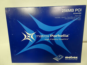 Matrox Parhelia PH-P256 256Mb PCI Graphics Card