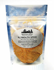 BOSTON SPICE PLYMOUTH SPICE BARBECUE SEASONING BLEND FOR POULTRY PORK 1/2 CUP