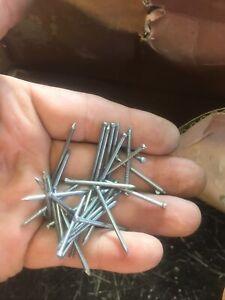 30 X 1.8mm Bright Bullet Head Nails 1 Kilo