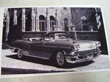 1958 CADILLAC  ELDORADO CONVERTIBLE    11 X 17  PHOTO   PICTURE 2