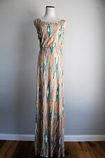 Ella Moss Santa Fe Maxi Dress X-Small  sleeveless