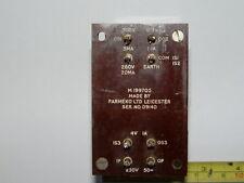 H.T Transformer suitable for valved equipment