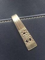Coronation Purse Hook Oneida Vintage Antique Silverplate Keychain Key Ring