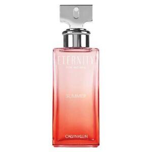 Calvin Klein Eternity Summer 2020 -100ml Eau de Parfum Spray, New and Sealed