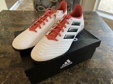 Adidas Predator Tango 18.4 Turf Soccer Shoe Size 12 White & Red NWT
