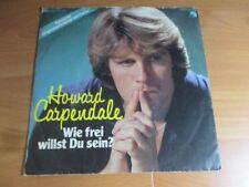 70er Jahre - Howard Carpendale - Wie frei willst du sein