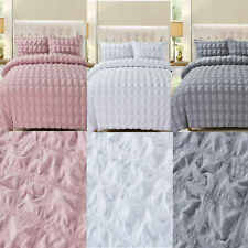 """Grey Pink White Quilt Cover Duvet Cover Set Bedding """"Checkers"""""""