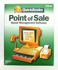 Quickbooks Point of Sale Retail Management Software Version 5.0 by Intuit, New