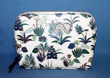 NWT $115 TORY BURCH Kerrington Cosmetic Case 40909 New Ivory Utopia Floral Print