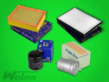 INSPEKTIONSPAKET AUDI A4 B6 2,4 3,0 Luft- Ölfilter Pollenfilter Benzinfilter