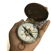 Boy Scouts of America Brass Compass Handmade Working Compass Robert Frost Kompas