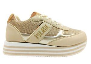Scarpe da donna Alviero Martini 1 Classe 10892 sneakers casual sportive platform
