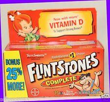 70 ct Flintstones COMPLETE Children's Multivitamin Supplement Chewable Vitamin D