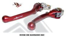 Apico Forgiato Flessibile Flexi Leve Honda CR125 CR250 CRF250 CRF450 07-12 Rosso
