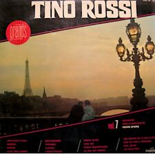 ++TINO ROSSI 7 arrivederci roma/trahison/ajaccio PEIRRE SPIERS LP COLUMBIA VG++