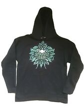 DEADSTOCK Vintage The Darkside Gothic Clothing  - Greenman Pullover Hoodie M
