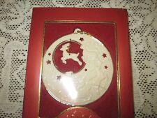 Lenox Dash Away Christmas Ornament