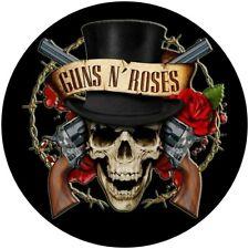 """GUNS N ROSES SKULL ETC GNR  QUALITY VINYL STICKER 100MM 4"""" BUY 2 GET 1 FREE"""