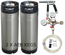 AEB PLUTO KEGGING KIT- MICROMATIC REGULATOR HOME BREW BEER KEG SYSTEM KEGERATOR