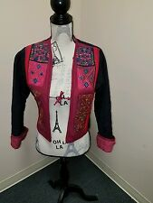 Equestrian  Vest Size MED***EUC*** QUILTED & HAND STITCHED **BEAUTIFUL**