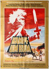 Orig.-Filmplakat: Kampf um Rom/Fight for Rome 1968/76 Orson Welles Art:Peltzer