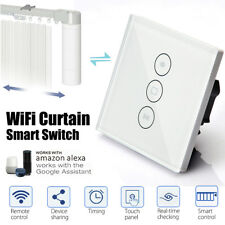 WIFI Smart RC Motoried Curtain Switch Touch Panel For Alexa Echo Google Home