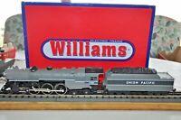 WILLIAMS  DIE CAST HUDSON W/WISTLE U.P. CAB #7465 STOCK #CS108W O-GAUGE OB