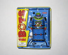 SCHYLLING TIN BOTS Wind-Up Action IMA ROBOT retro space replica figure NEW NIP