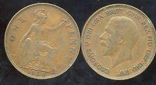 Royaume Uni - Great Britain one penny 1930 ( etat )