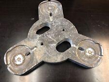 Used Grinding Plates for Terrco Floor Grinder; models 6200, 3100Lp, 3100 & 701-S