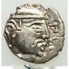 Gupta Empire Silver Drachma of Kumaragupta ca. AD 415-455