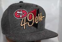 San Francisco 49ers Mitchell & Ness Crease Triangle Script Snapback,Cap,Hat