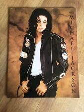 Michael Jackson Dangerous World Tour Glossy Colour Concert Programme 1992